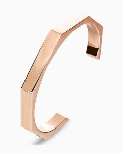 Mens-18K-Gold-Plated-Bangle-Cuff-Bracelet