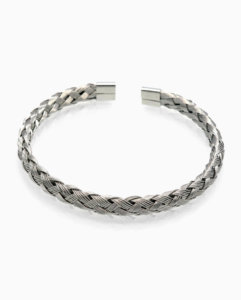 Mens-jewelry-stainless-steel-wire-bracelet