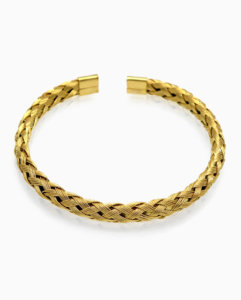 gold-plated-stainless-steel-wire-bracelet-mens