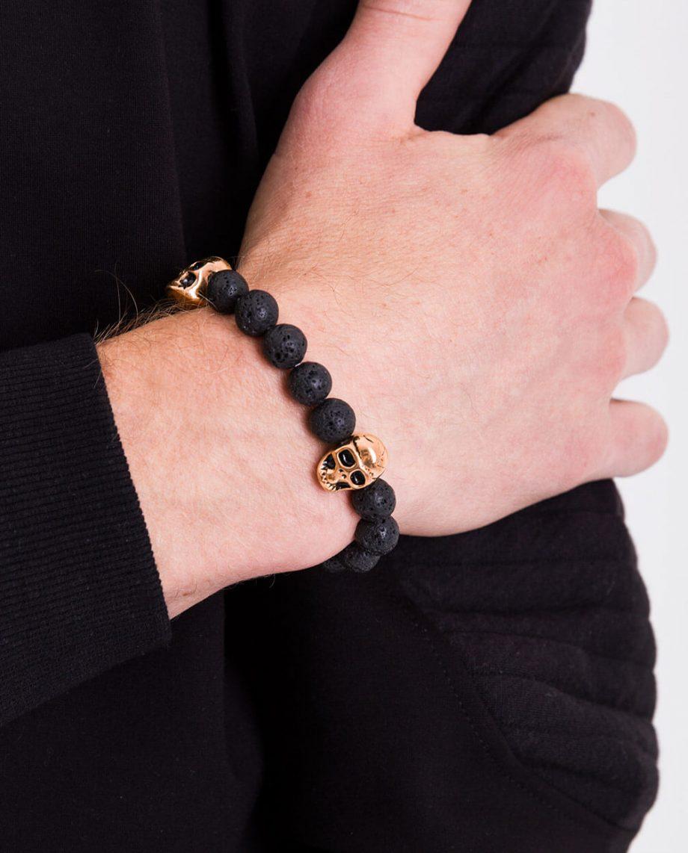 18kt-Gold-Plated-Skull-Bracelet
