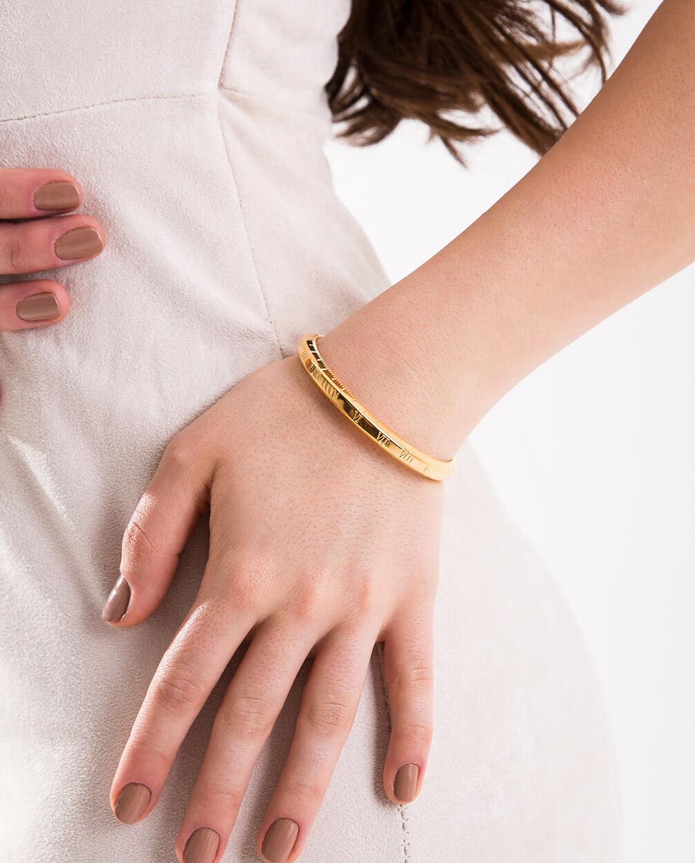 Azari-Gold-Roman-Numeral-Cuff-Bracelet