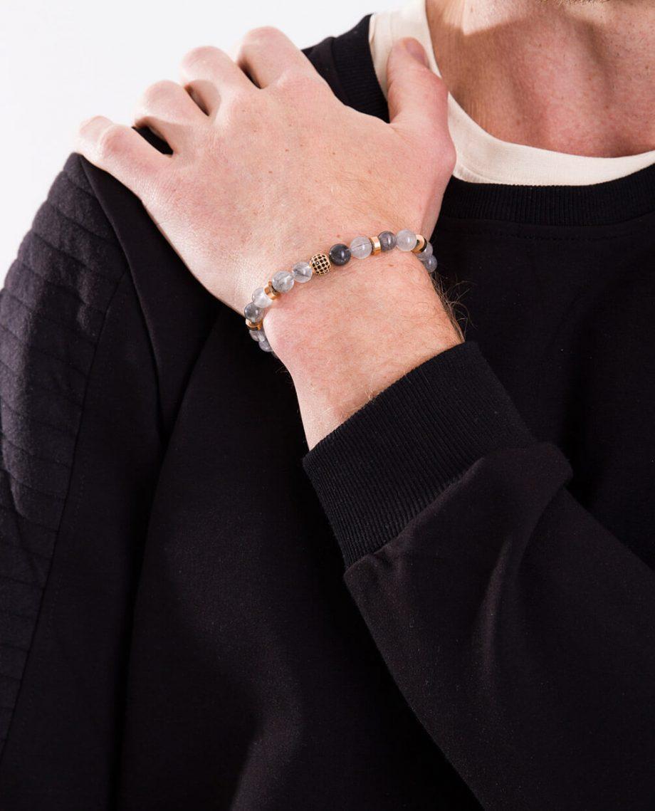 Gold-Plated-Mens-Gemstone-Beaded-Jewellery