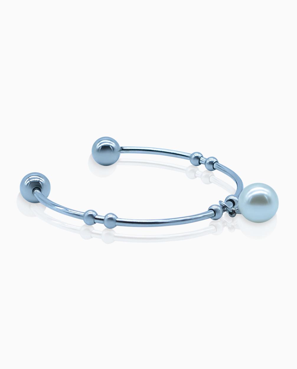 Womens-Pearl-Cuff-Bracelet-Sterling-Silver